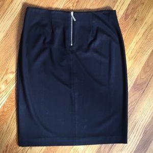NWT Chico's black pencil skirt